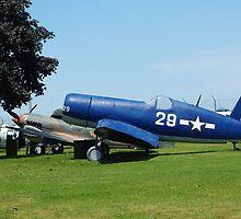 WW II plane by Karen Checca