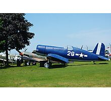 WW II plane Photographic Print