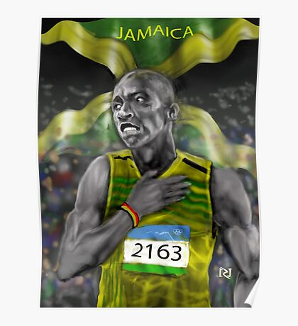 BOLTING FOR JAMAICAN PRIDE ! Poster