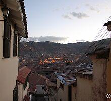 Cusco at Dusk by boydhowell