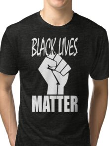 Black Lives Matter Fist Tri-blend T-Shirt