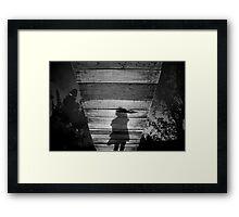 Way Framed Print