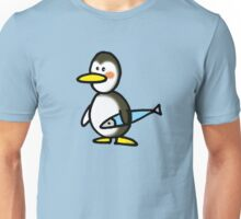 Funny penguin & fish Unisex T-Shirt