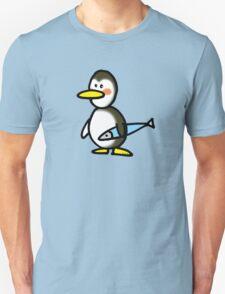 Funny penguin & fish T-Shirt
