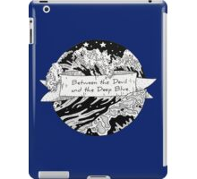 Between the Devil and the Deep Blue Sea, Graphic Illustration iPad Case/Skin