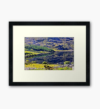 kerry reflections of Eire Framed Print
