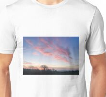 Sunrise over County Kilkenny, Ireland Unisex T-Shirt