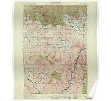 USGS Topo Map Oregon Pine 283239 1915 125000 Poster