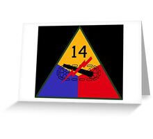 14th Armored Division 'Liberators' (United States) Greeting Card