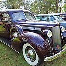 1939 Packard One Twenty Sedan by Marilyn Harris