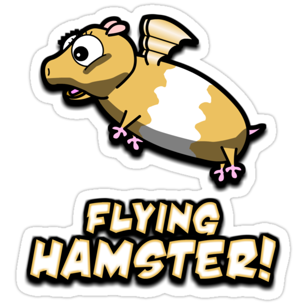Hambert The Flying Hamster! by scpmovies