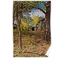 Log Cabin Rentals on the North Rim Grand Canyon Poster