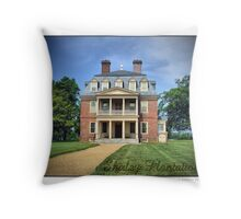 Shirley Plantation Throw Pillow