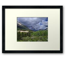 Red Rock Canyon Wilderness Framed Print