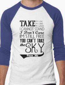 Firefly Theme song quote Men's Baseball ¾ T-Shirt
