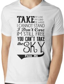 Firefly Theme song quote Mens V-Neck T-Shirt