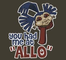 'You had me at 'Allo'' (Labyrinth)