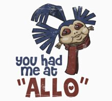 'You had me at 'Allo'' (Labyrinth) Kids Clothes
