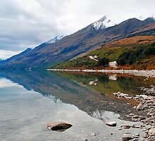 On the way to Glenorchy from Queenstown. South Island, New Zealand. (2) by Ralph de Zilva