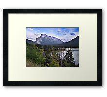 Mt. Rundle Framed Print