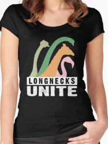 Longnecks Unite - Dark Women's Fitted Scoop T-Shirt