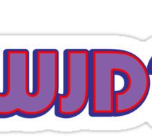 WWJD, Dude. Sticker