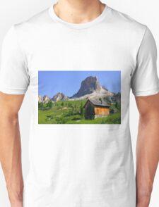 A chalet near Averau  Unisex T-Shirt