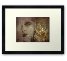 Golden Metamorphosis Framed Print