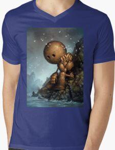 Introversion Mens V-Neck T-Shirt
