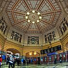 Flinders St Station • Melbourne • Australia by William Bullimore