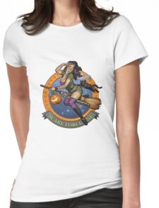 Scare Force One Womens Fitted T-Shirt