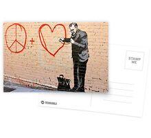 Banksy - Doctor Love - San Francisco, CA 2010 Postcards