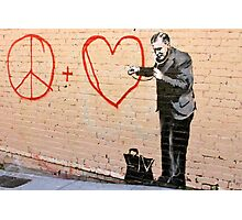Banksy - Doctor Love - San Francisco, CA 2010 Photographic Print