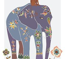 Indian Elephant  by Piia  Põdersalu