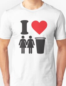 Funny Shirt Two Girls One Cup  Unisex T-Shirt