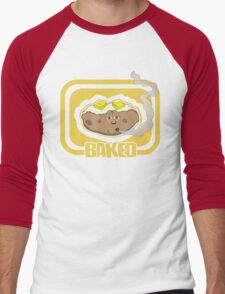 Funny Shirt - Baked Men's Baseball ¾ T-Shirt