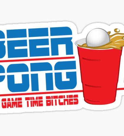Funny Shirt - Beer Pong  Sticker
