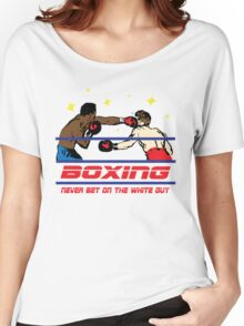 Funny Shirt - Boxing Women's Relaxed Fit T-Shirt