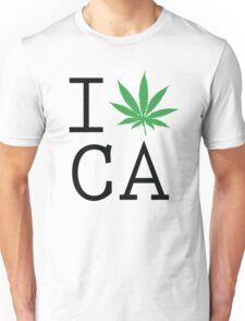 Funny Shirt - I Love California Unisex T-Shirt