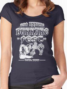 Funny Shirt - Bukkake Fest Women's Fitted Scoop T-Shirt