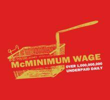 Funny Shirt - Mc Minimum Wage by MrFunnyShirt