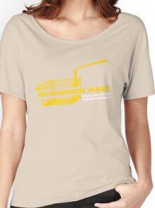 Funny Shirt - Mc Minimum Wage Women's Relaxed Fit T-Shirt