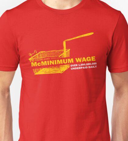 Funny Shirt - Mc Minimum Wage Unisex T-Shirt
