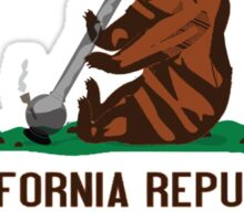 Funny Shirt - California State Flag Sticker