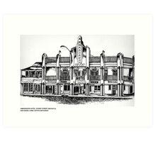 AMBASSADOR HOTEL , MACKAY, QUEENSLAND Art Print