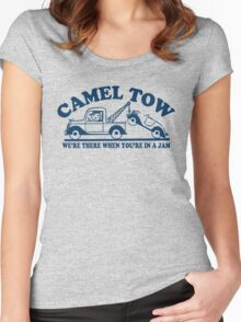 Funny Shirt - Camel Tow Women's Fitted Scoop T-Shirt
