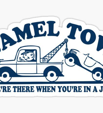 Funny Shirt - Camel Tow Sticker