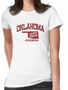 Funny Shirt - Oklahoma Womens Fitted T-Shirt
