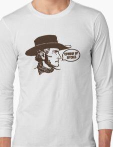 Funny Shirt - Cowboy Up Long Sleeve T-Shirt