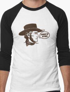 Funny Shirt - Cowboy Up Men's Baseball ¾ T-Shirt